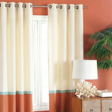 Capri Grommet Single Curtain Panel