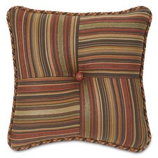 Hayworth Marquette Toffee Tufted Throw Pillow