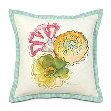 Portia Hand-Painted Motif Throw Pillow