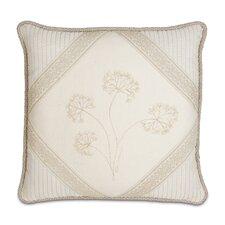 Brookfield Hand-Painted Diamond Throw Pillow