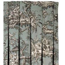 Vera Cotton Pleated  Single Curtain Panel