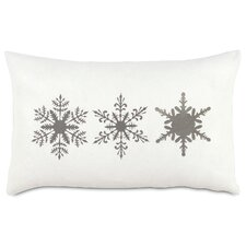 Dreaming of a White Christmas Dreamsicle Lumbar Pillow