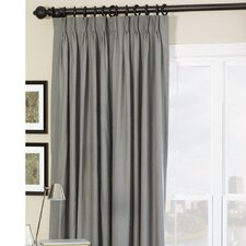 Breeze Pure Linen Cotton Pleated Single Curtain Panel
