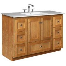 "Simplicity 49"" Single Bathroom Vanity Set"