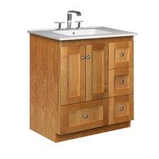 "Simplicity 31"" Single Bathroom Vanity Set"