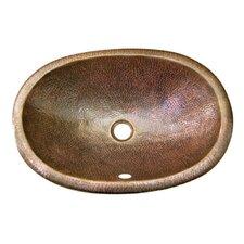 Hammerwerks Self Rimming Ellipse Bathroom Sink