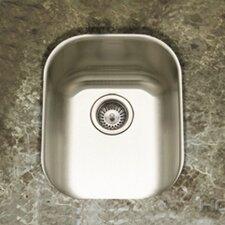 """Club 18.5"""" x 15"""" Undermount Large Bar Sink"""