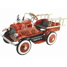 Kalee Pedal Fire Truck