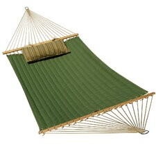 Quilted Sunbrella Hammock with Deluxe Sunbrella Pillow