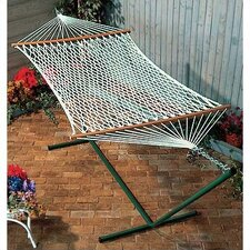 "52"" x 76"" Polyester Rope Hammock"