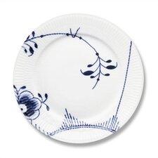 """Blue Fluted Mega 8.75"""" Lunch / Dessert Plate"""