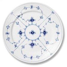 "Blue Fluted Plain 7.5"" Salad / Dessert Plate"