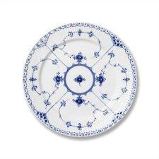 "Blue Fluted Half Lace 7.5"" Salad / Dessert Plate"