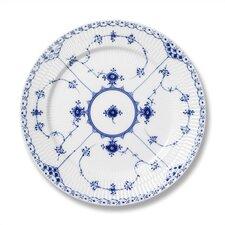 "Blue Fluted Half Lace 8.75"" Salad / Dessert Plate"