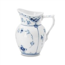 Blue Fluted Half Lace 5.75 oz. Creamer