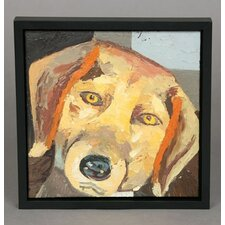 Beagle Framed Original Painting
