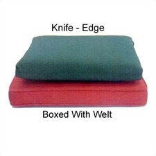 Boxed Outdoor Armchair Cushion