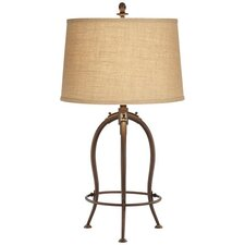 """Wellington 32"""" H Table Lamp with Drum Shade"""
