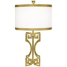 "PCL Phila 30"" H Table Lamp with Drum Shade"