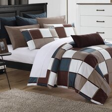 City Squares Duvet Cover Set