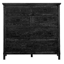 Resort Haven's Harbor 6 Drawer Media Chest