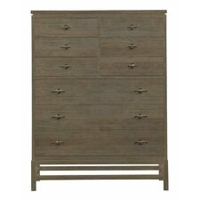 Resort 9 Drawer Tranquility Isle Lingerie Chest