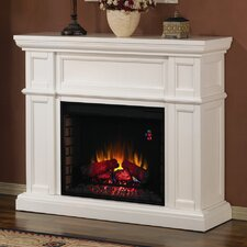 Artesian Mantel with Electric Fireplace