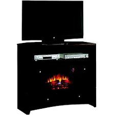 Delray Media Fireplace Mantel