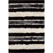 Fola Black/White Area Rug
