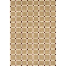 Art Brown/Red Area Rug