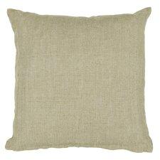 Textured Contemporary Linen Throw Pillow