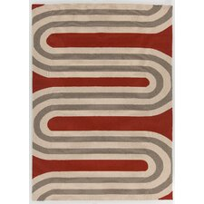 Thomaspaul Patterned Red Indoor/Outdoor Area Rug