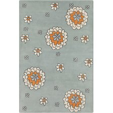 Allie Hand Tufted Wool Cream/Gray Area Rug