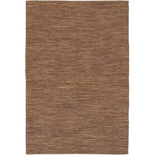 India Brown Area Rug