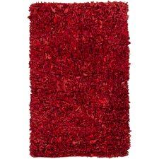 Art Red Area Rug