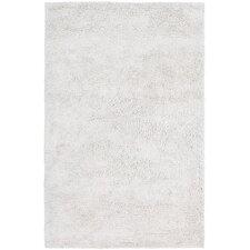 Ombra Shag White Area Rug