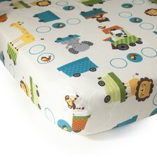 Choo Choo 2 Piece Crib Sheet Set