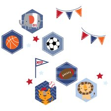 Baby League Wall Decal