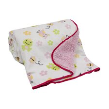 Magic Kingdom Velour Sherpa Blanket