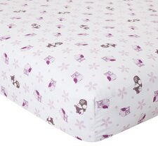 Lavender Woods Crib Fitted Sheet