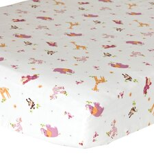 Lil' Friends 2 Piece Crib Sheet Set