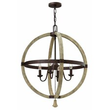 Middlefield 4 Light Chandelier