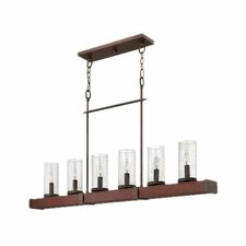 Jasper 6 Light Linear Chandelier