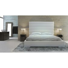 Prince Upholstered Panel Bed