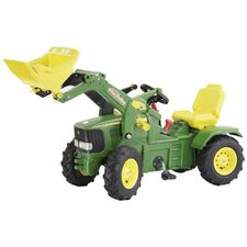 John Deere Air Tire Farm Pedal Tractor with Loader