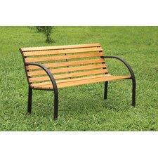 Refined Simplicity Outdoor Garden Bench