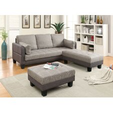Jeffrees Convertible Sofa