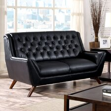 Daine Modern Tufted Loveseat