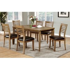 Natura 7 Piece Dining Table (Set of 7)