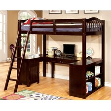 Colony Twin Loft Bed with Workstation